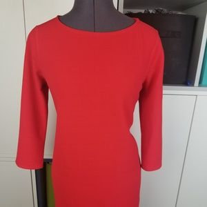 Bright red Modcloth dress/tunic